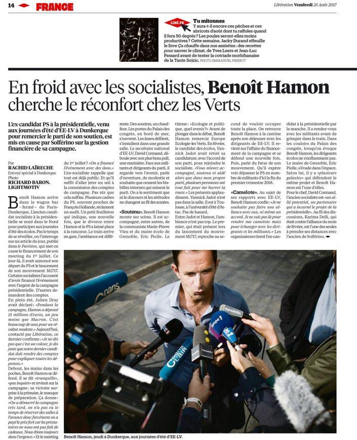 Parution Libération